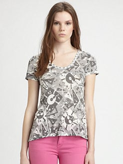 Marc by Marc Jacobs - Bones Printed Tee