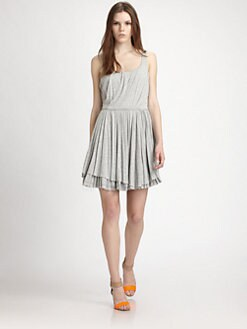 Marc by Marc Jacobs - Beals Pleated Jersey Dress