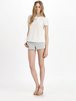 Marc by Marc Jacobs - Rosie Cotton & Silk Eyelet Top