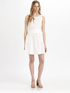 Marc by Marc Jacobs - Rosie Cotton & Silk Eyelet Dress