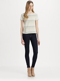 Marc by Marc Jacobs - Sketch Stripe Jersey Tee