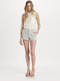 Marc by Marc Jacobs - Erin Sleeveless Silk Shirt