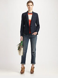 Marc by Marc Jacobs - Rudy Stretch-Linen Jacket
