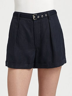Marc by Marc Jacobs - Rudy Stretch-Linen Shorts