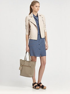 Marc by Marc Jacobs - Jett Leather Moto Jacket