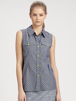 Marc by Marc Jacobs - Dotty Chambray Shirt