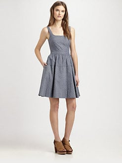 Marc by Marc Jacobs - Dotty Chambray Dress