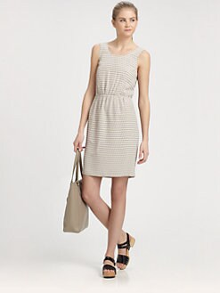 Marc by Marc Jacobs - Izzy Polka-Dot Silk Dress
