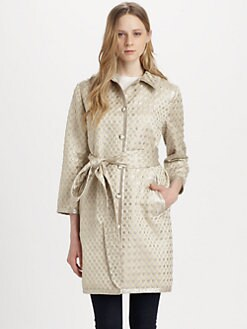 Marc by Marc Jacobs - Romy Dot Jacquard Coat