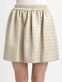 Marc by Marc Jacobs - Romy Dot Jacquard Skirt