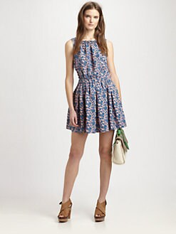 Marc by Marc Jacobs - Tootsie Floral Silk Dress