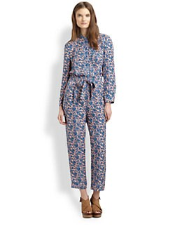Marc by Marc Jacobs - Tootsie Floral Silk Jumpsuit