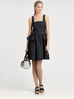 Marc by Marc Jacobs - Denim Peplum Dress