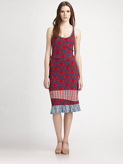 Marc by Marc Jacobs - Check Mix Dress