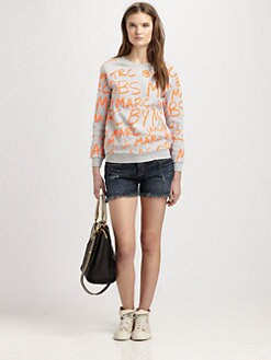 Marc by Marc Jacobs - MBMJ Cotton Sweatshirt