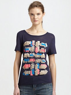 Marc by Marc Jacobs - Double Arrow Jersey Tee