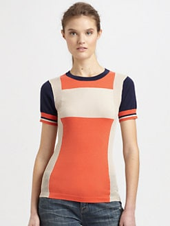 Marc by Marc Jacobs - Armstrong Colorblock Sweater