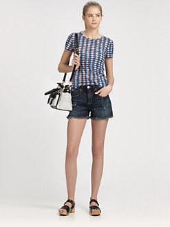 Marc by Marc Jacobs - Molly Check Jersey Tee