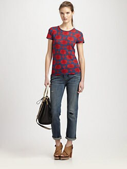 Marc by Marc Jacobs - Sam Floral Cotton Sweater