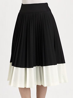 Marc by Marc Jacobs - Tara Tonic Pleated Skirt
