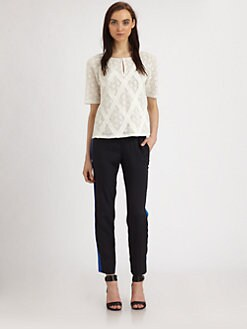 Marc by Marc Jacobs - Collage Lace Top