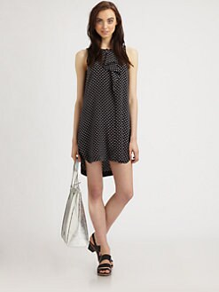 Marc by Marc Jacobs - Vivie Silk Hi-Lo Dress