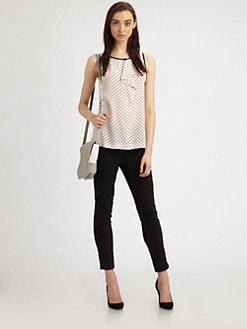 Marc by Marc Jacobs - Vivie Silk Ruffle Top