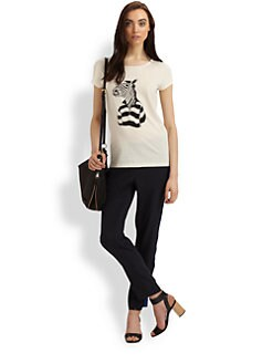 Marc by Marc Jacobs - Mr. Zebra Cotton Tee