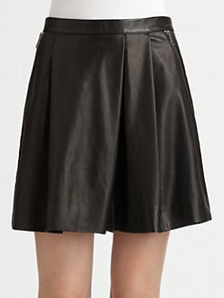 Marc by Marc Jacobs - Sergeant Leather Skirt