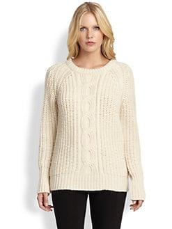 DKNY - Contrast-Stitch Sweater