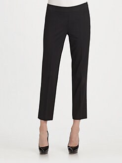 DKNY - Perry Skinny Fit Cropped Pants