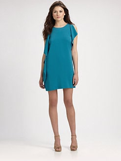 DKNY - Sleeveless Draped Dress