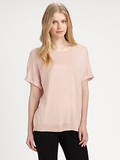 DKNY - Silk/Cashmere Knit Top