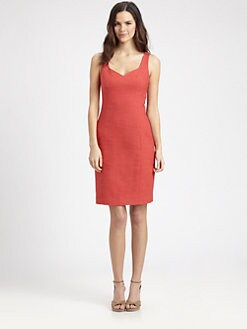 DKNY - Sleeveless Sweetheart Dress