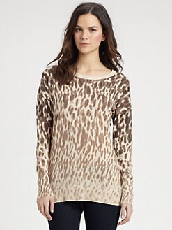 DKNY - Animal-Print Sweater