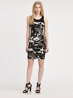 DKNY - Ruched Tank Dress