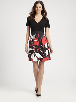 DKNY - Short-Sleeve System Dress