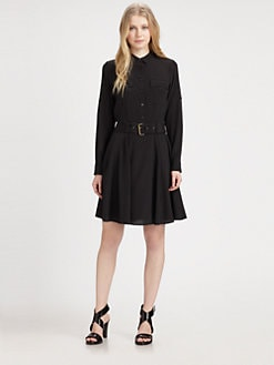 DKNY - Belted Shirtdress