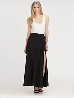 DKNY - Colorblock Maxi Tank Dress