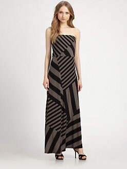 DKNY - Strapless Maxi Dress