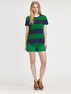 DKNY - Striped Blouse