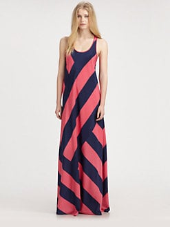 DKNY - Stretch-Silk Tank Maxi Dress