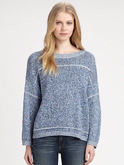 DKNY - Seam-Detail Pullover Top