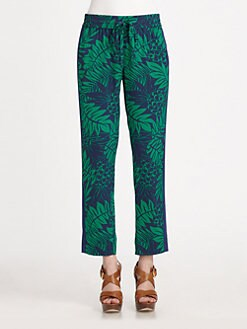 DKNY - Printed Drawstring Pants