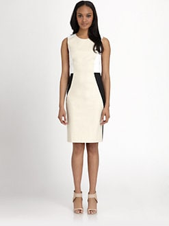 DKNY - Colorblock Sheath Dress