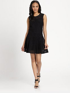 DKNY - Eyelet Sheath Dress