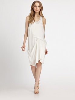 DKNY - Silk Racerback Tank Dress