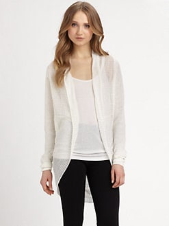 DKNY - Linen Cardigan Sweater