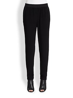 DKNY - Slim-Leg Pull-On Pants