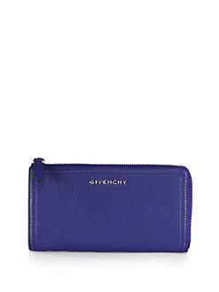 Givenchy - Pandora Leather Zip Wallet